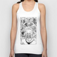 mad max Tank Tops featuring Mad Max Fury Road by Joseph Silver