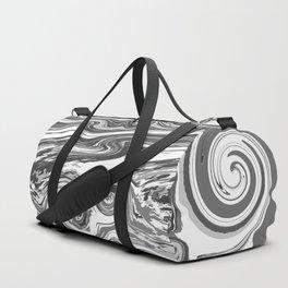 BLACK&WHITE MIX Duffle Bag
