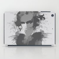 beethoven iPad Cases featuring BEETHOVEN by Resistance