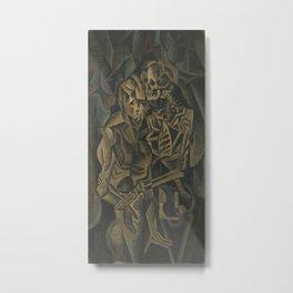 Kiss of a Death - Bohumil Kubista Metal Print