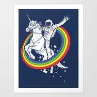 internet Art Prints featuring Epic Combo #23 by Jonah Makes Artstuff