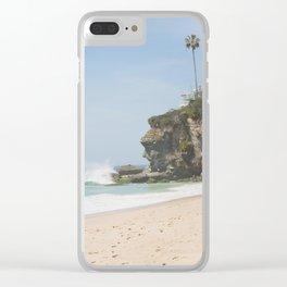Cliffs of Laguna Beach Clear iPhone Case