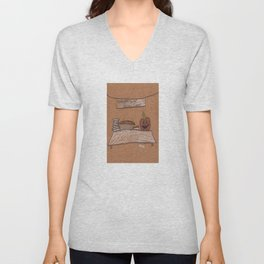 Thanksgiving Dessert Unisex V-Neck