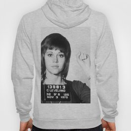 Jane Fonda Mug Shot Vertical Hoody