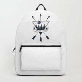 Adventure. Geometric Style Backpack