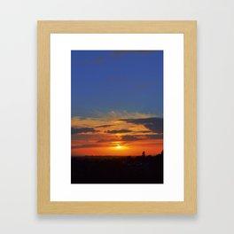 The colours we burn Framed Art Print