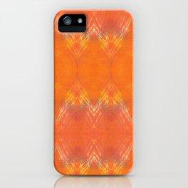Indian Summer | Fall Mood | Autumn Colors | Orange iPhone Case