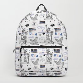 USA POLICE Backpack
