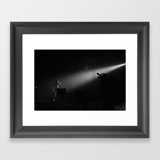 The showman  Framed Art Print