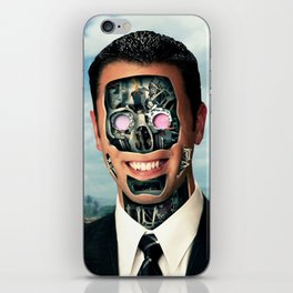 Manchine iPhone Skin