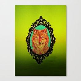 Wolf Portrait Canvas Print