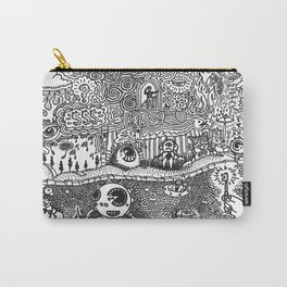 Psycedelic Surrealistic Landscape Carry-All Pouch