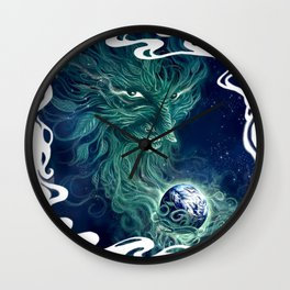 Spirit of the Earth Wall Clock