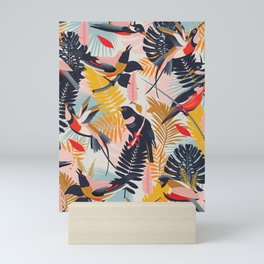 Paradise Birds II. Mini Art Print