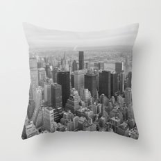 Empire State, New York Throw Pillow