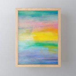 Ocean Sunrise Series 2 Framed Mini Art Print