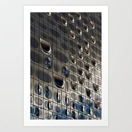 METALLIC SOUND Art Print