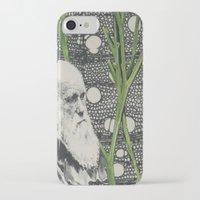 darwin iPhone & iPod Cases featuring Darwin-ing by Eleanor Boersma