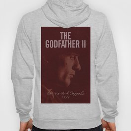 The Godfather, Part II, Robert De Niro, Francis Ford Coppola, alternative movie poster, cult film Hoody