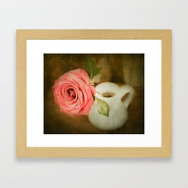 The Rose Framed Art Print