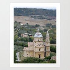 Montepulciano d'Abruzzo Art Print