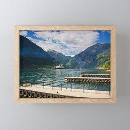 Geiranger Framed Mini Art Print