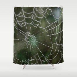 webs Shower Curtain