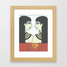 love to wuman Framed Art Print