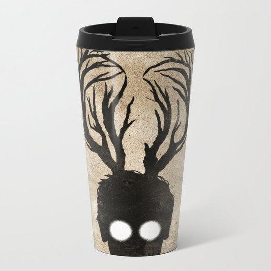 oh deer love Metal Travel Mug