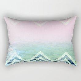 Bermuda Sky Pattern Rectangular Pillow