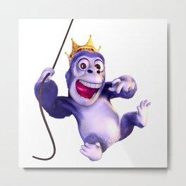 King Gorila Metal Print