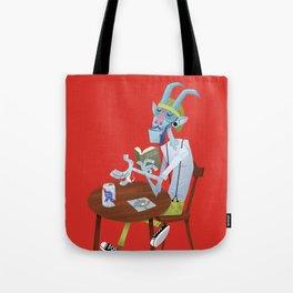 Krampus or Hipster? Tote Bag