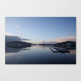 Norwegian Nature -Water I Canvas Print