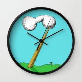 Landscape of my dreams-2 Wall Clock