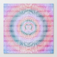 modest mouse Canvas Prints featuring Modest by Truly Juel