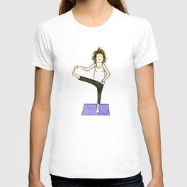 Yoga Folks. Balancing Pose.   T-shirt