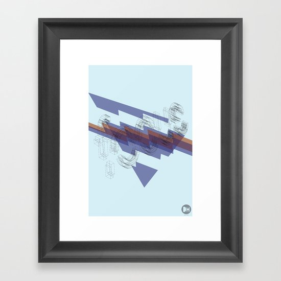Can't Focus Framed Art Print