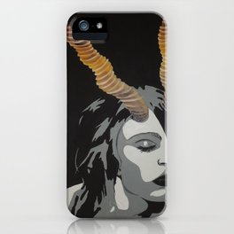 Alone with Light iPhone Case