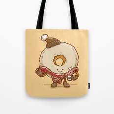 Bacon Scarf Maple Donut Tote Bag