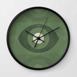 George Orwell Nineteen Eighty-Four - Minimalist literary design, bookish gift Wall Clock