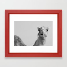 Yes? Framed Art Print