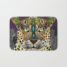 leopard queen Bath Mat