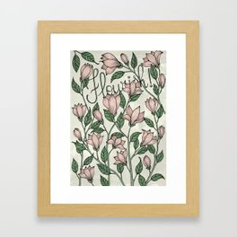Flourish! Framed Art Print