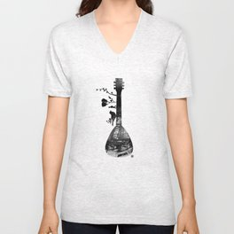 Guitar Childhood Unisex V-Neck