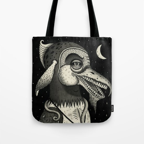 Bearded Fowl with Ambiguous Intentions Tote Bag
