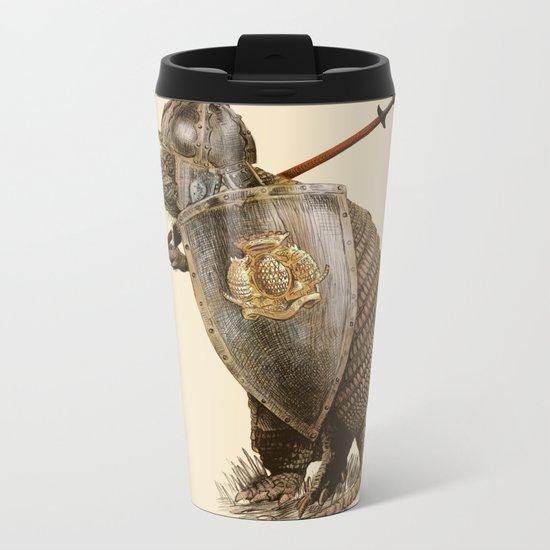 Armadillo (option) Metal Travel Mug