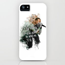 Simple Chester - Numb iPhone Case