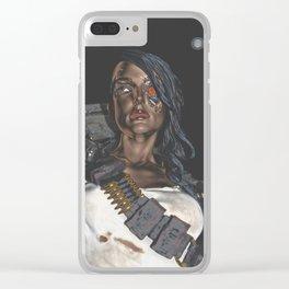 Rebel Terminator Clear iPhone Case