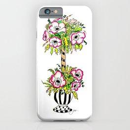 topiary iPhone Case