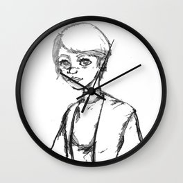 Lined by Memory Wall Clock